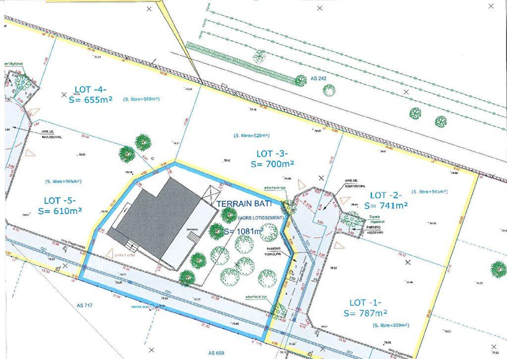 Terrain Ventabren 741 m2